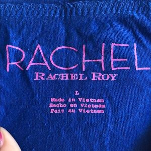 RACHEL Rachel Roy Tops - Rachel Roy blue short sleeve top